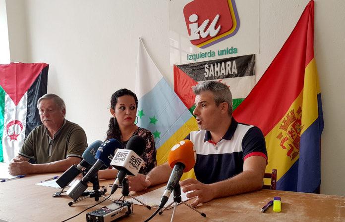 Rueda de Prensa IU USP ACP 8-8-2018 - Aguas residuales en el Valle de La Orotava