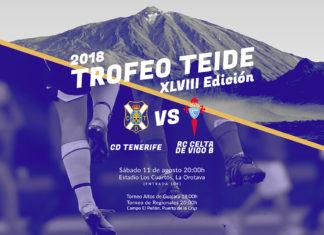 Acto de Presentacion del Trofeo Teide 1-8-2018Trofeo Teide