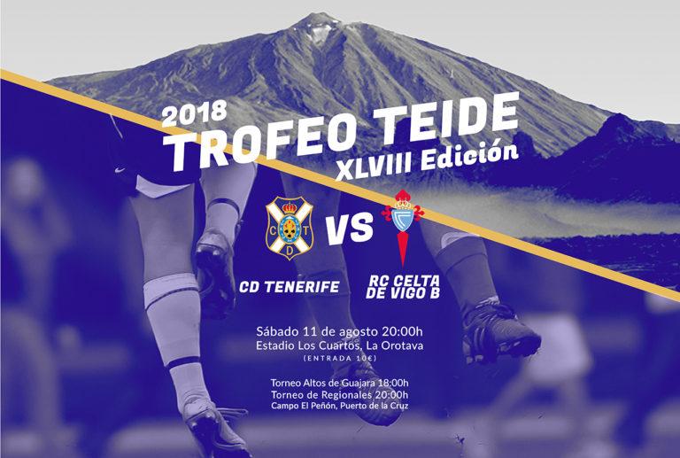 Gerardo Movilla será el pregonero del Trofeo Teide 2018