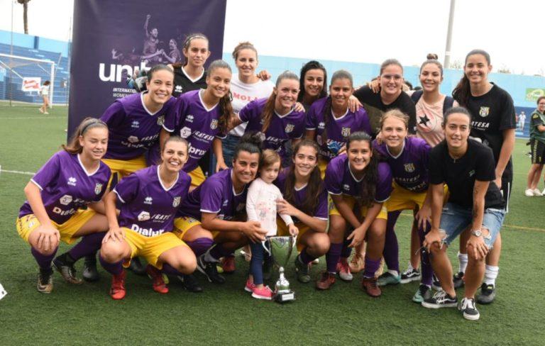 El U.D. Granadilla Tenerife B gana la final femenina del Trofeo Teide