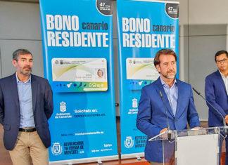 Presentación del Bono Residente Canario