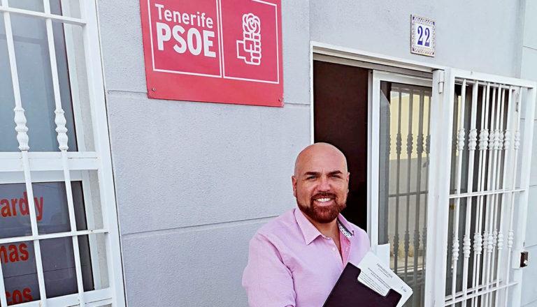 Marco González será el cabeza de lista del PSOE portuense tras no presentarse otras alternativas