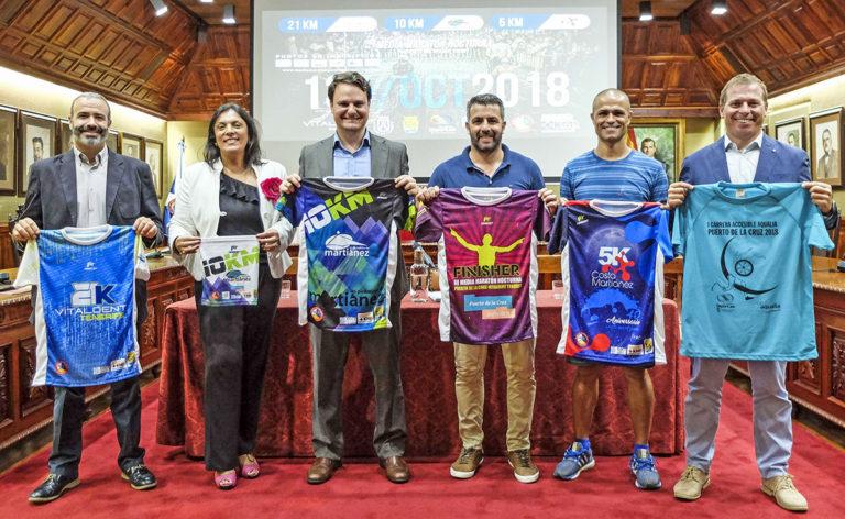 Este sábado llega la Media Maratón nocturna al Puerto de la Cruz