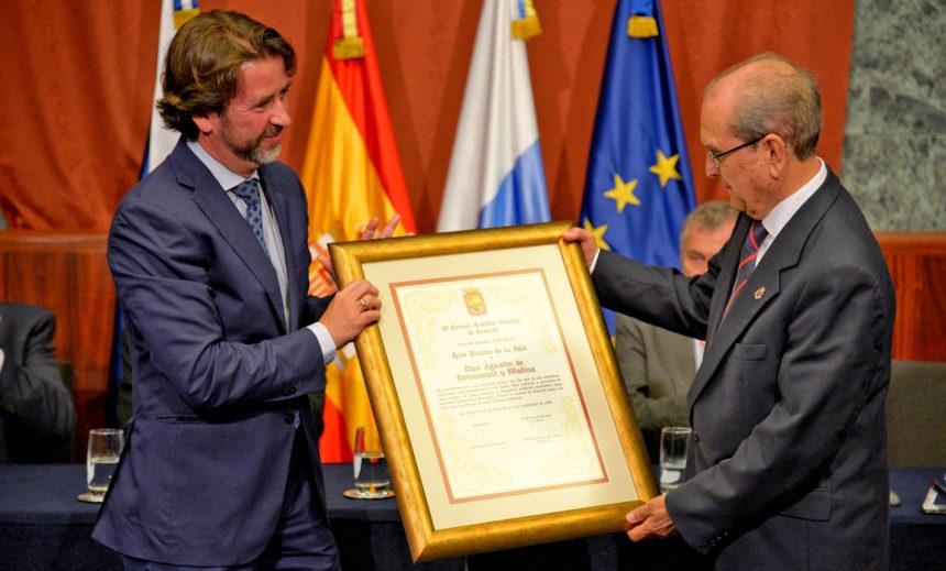 Entrega del Diploma como Hijo Ilustre Agustín de Betancourt y Molina