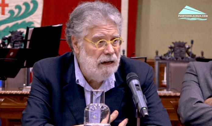 Joaquin Estefania - conferencia en Puerto de la Cruz - 12 de octubre de 2018