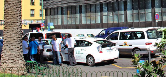 Parada de Taxis de la Plaza del Charco