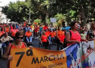VII marcha por la accesibilidad