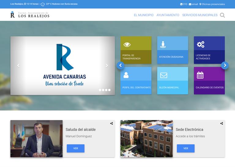 El PSOE de Los Realejos pide que la web municipal sea accesible para personas con discapacidad