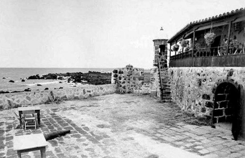 Explanada del Castillo de San Felipe. (Autor anónimo) Cedida por B. Cabo Ramón