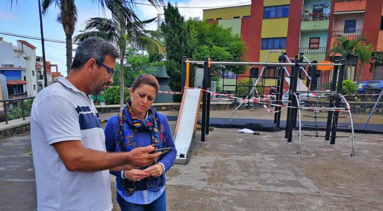Los Realejos en proceso de instalar 14 nuevos parques infantiles