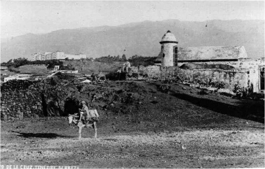 Aspecto exterior del polvorín a comienzos siglo XX - Foto Marcos Baeza Carrillo