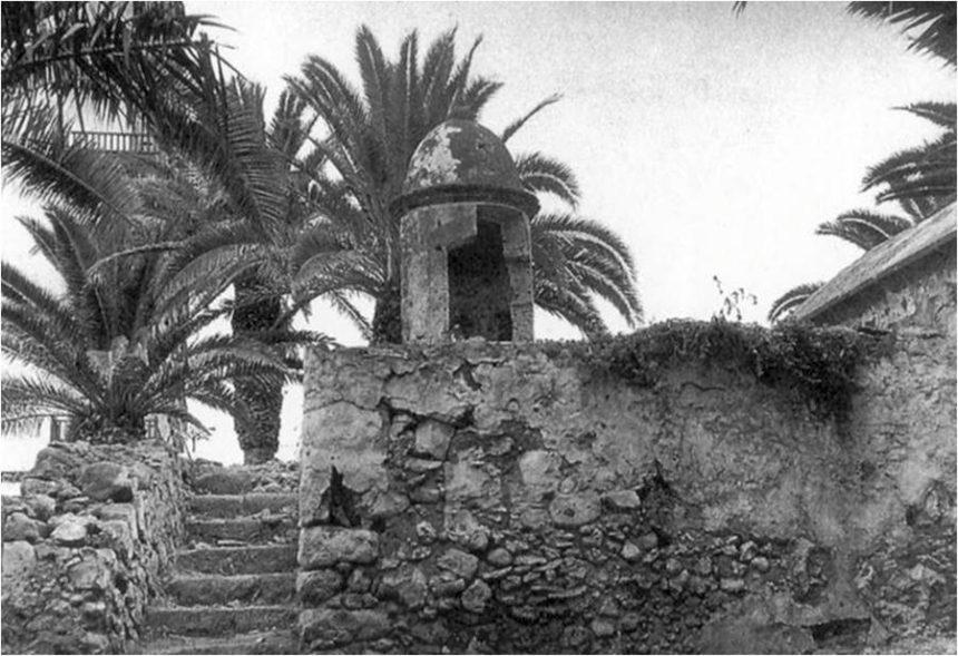 Polvorín del Castillo de San Felipe muy deteriorado