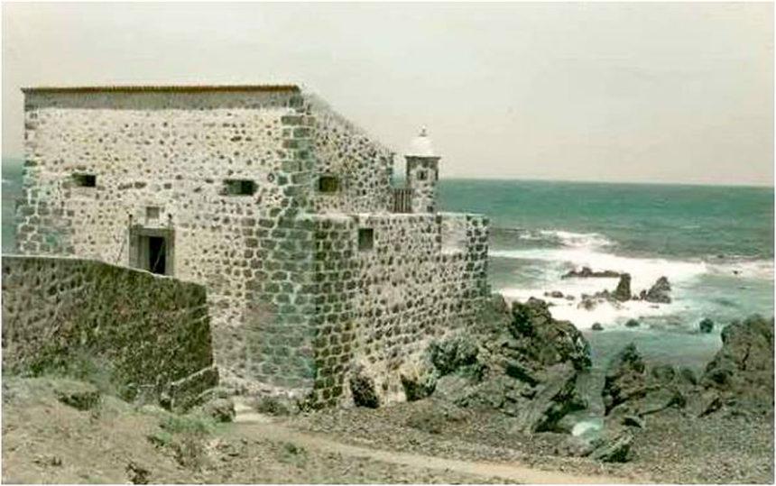 Castillo de San Felipe ya remozado a mediados del siglo XX