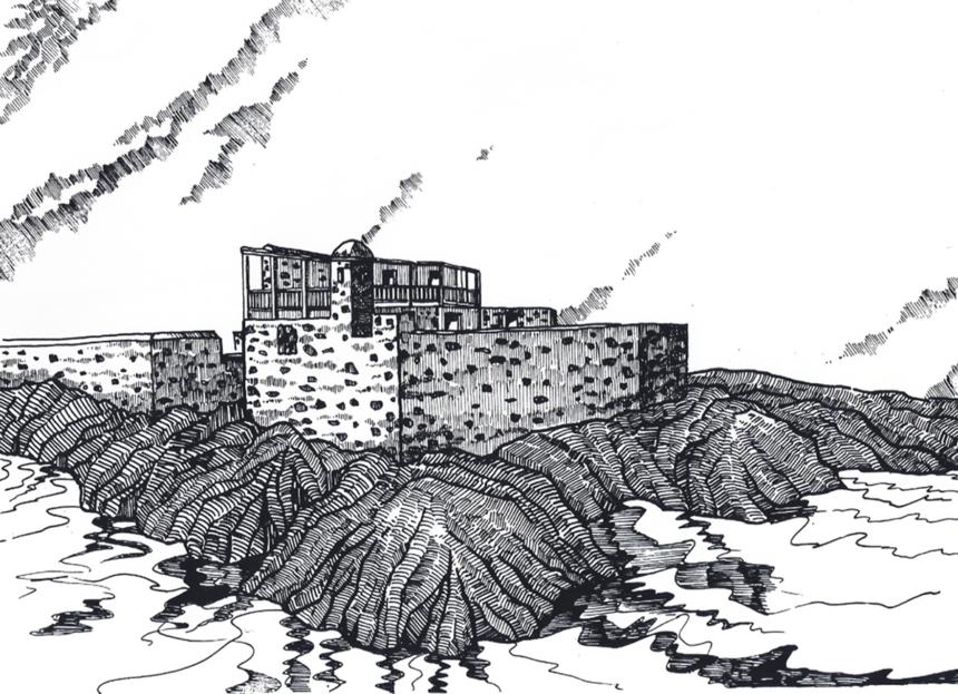 Perspectiva del Castillo San Felipe