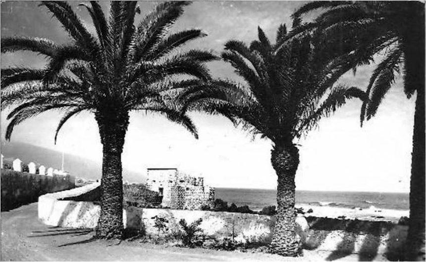 Vista del Castillo de San Felipe desde el cementerio - Autor anónimo