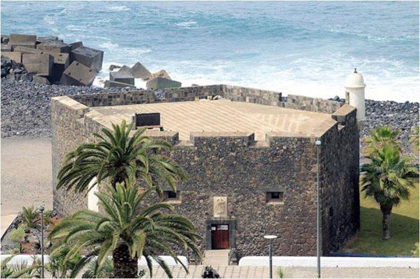 Castillo de San Felipe con su planta pentagonal (Autor anónimo)