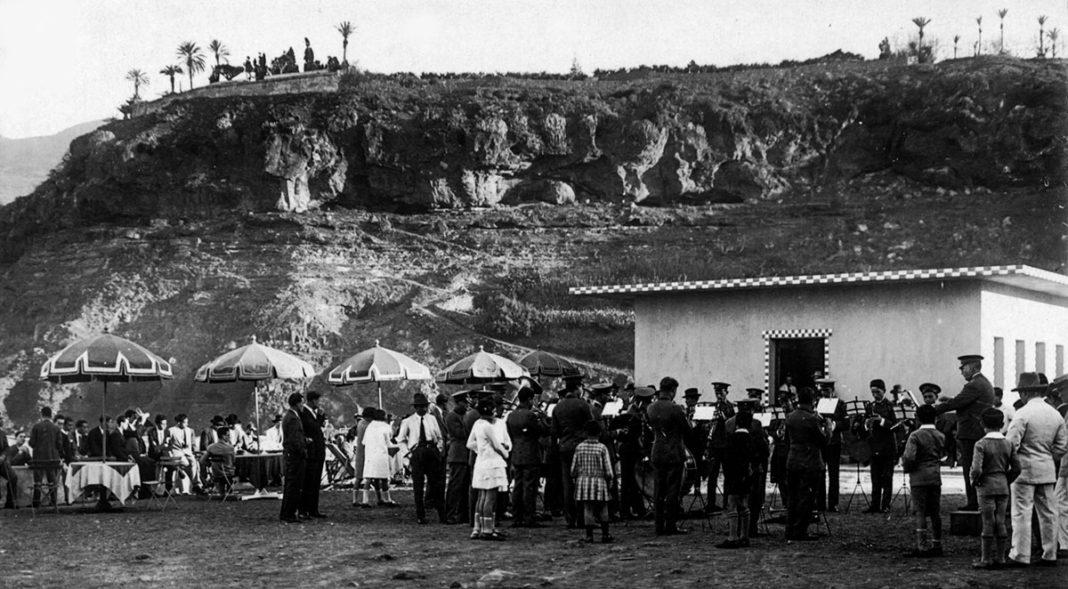 Ladera de Martiánez principios siglo XX