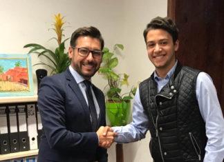 Víctor Cabo y Pedro Antonio Campos