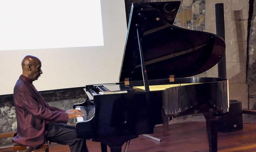 Un momento de la intervención de Othoniel Rodríguez