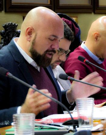 Marco González en el pleno del 16-11-2018