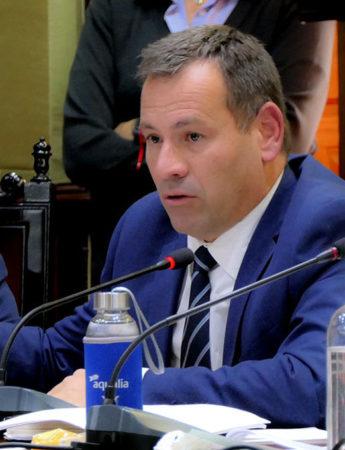 Pedro González durante el Pleno del 16-11-2018