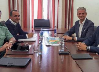 Reunión en la Subdelegación del Gobierno