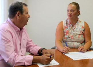 Firma de subvención a la Fundación Hogar Santa Rita