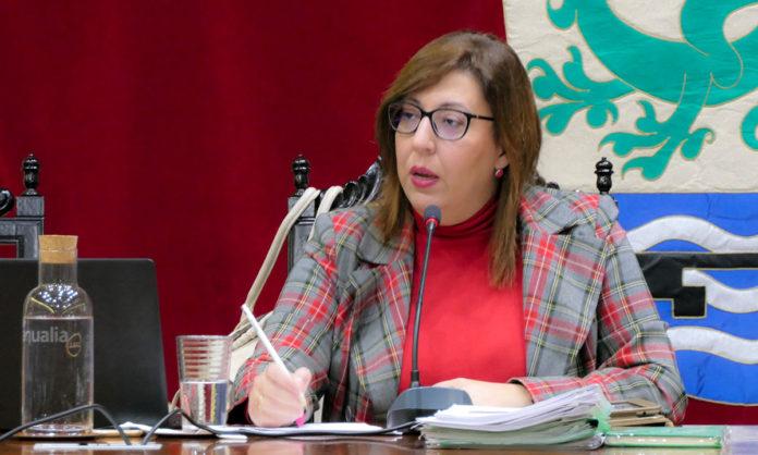 Sandra Rodriguez en el Pleno del 16-11-2018