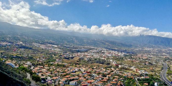 Vista panorámica de La Orotava