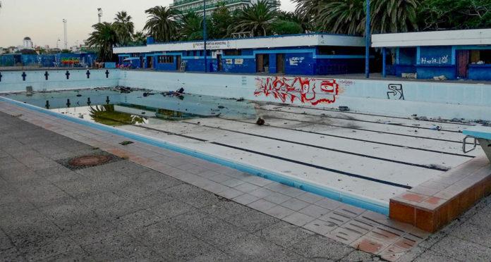 Estado actual de la piscina municipal