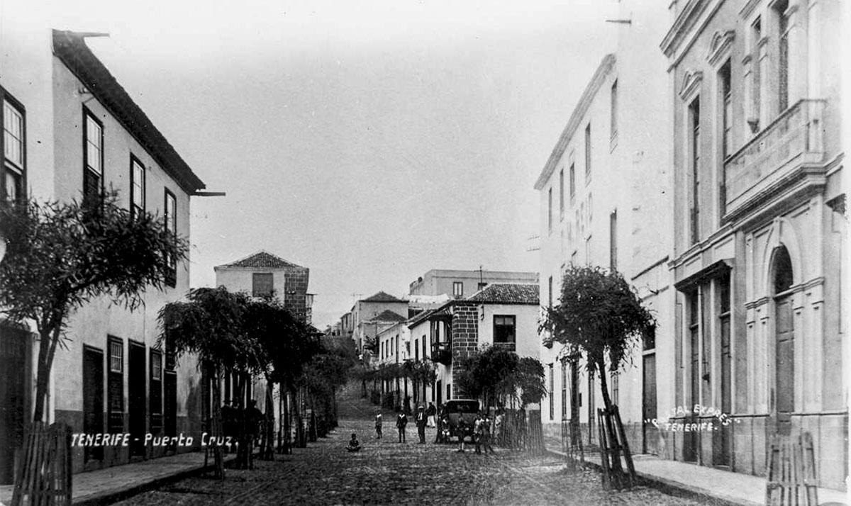 Calle Iriarte donde nacio Agustín Espinosa