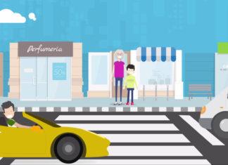 Campaña de seguridad vial 'Levanta el pie´