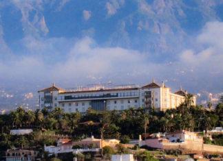 Hotel Taoro desde el casco del Puerto de la Cruz