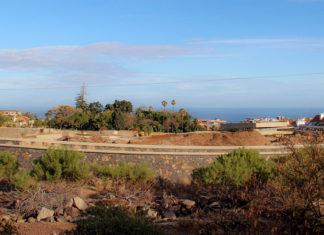 Zona de ampliacion del Jardin Botánico del Puerto de la Cruz