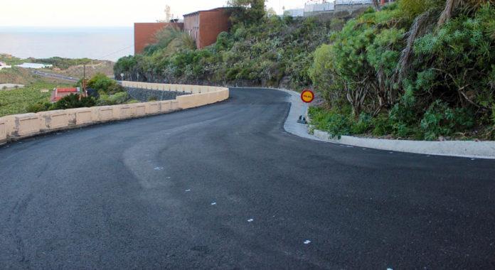 Carretera TF-2214 del Casco a San José