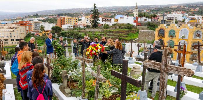 Homenaje a Agustín Espinosa en Los Realejos