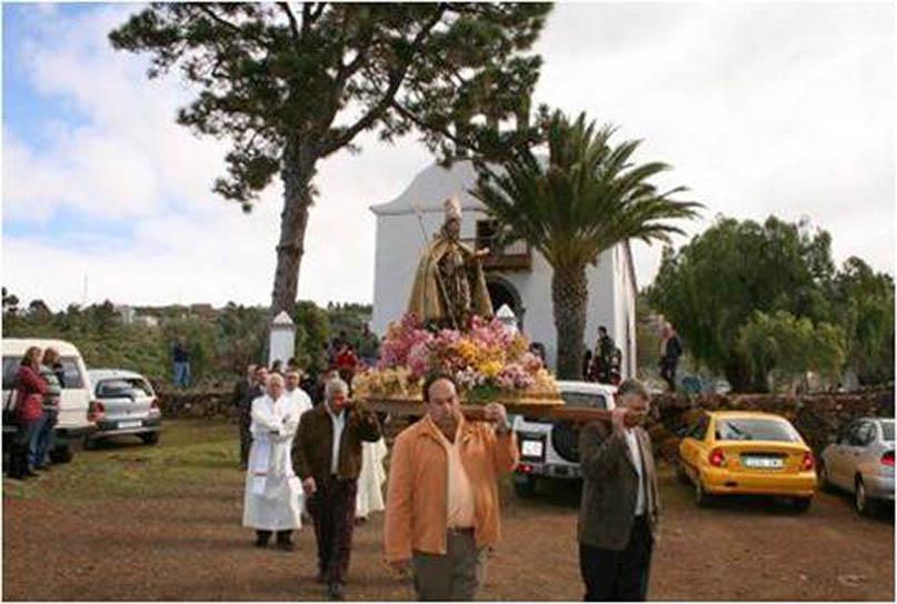 Iglesia de San Amaro en Puntagorda - La Palma - Autor anónimo