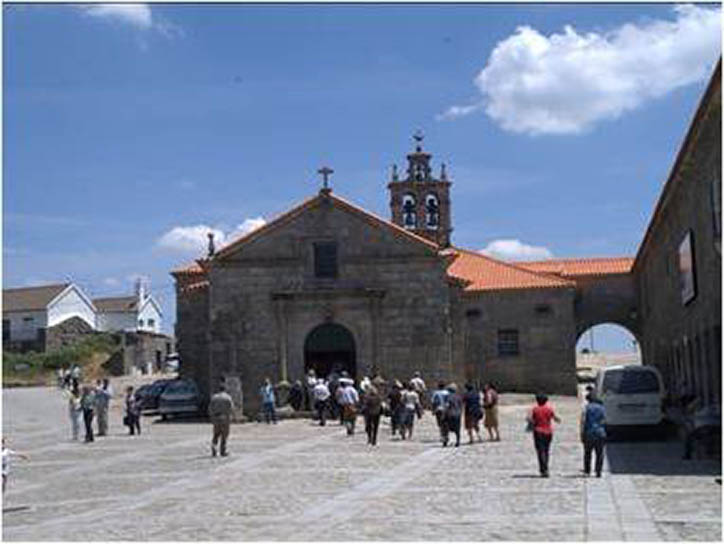 Santuario da Nossa Senhora da Lapa en Quintela (Portugal)