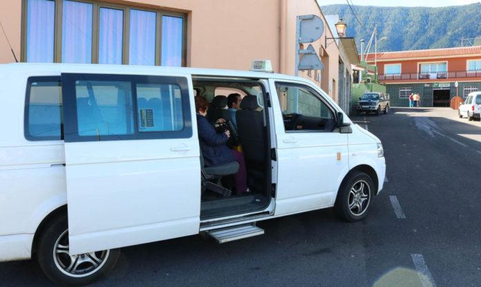 Imagen de archivo del taxi compartido