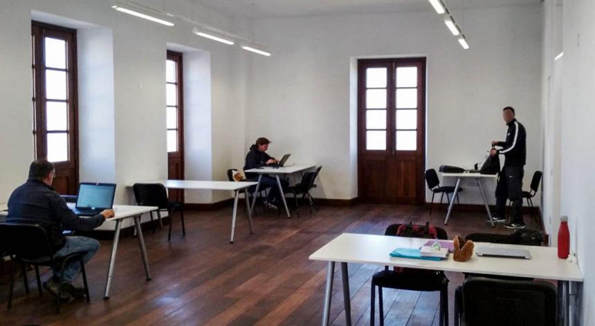 Sala de Estudios de la ULL en Casa de los Pérez