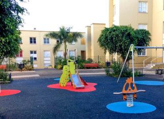 Parque infantil Achamán en La Montaña