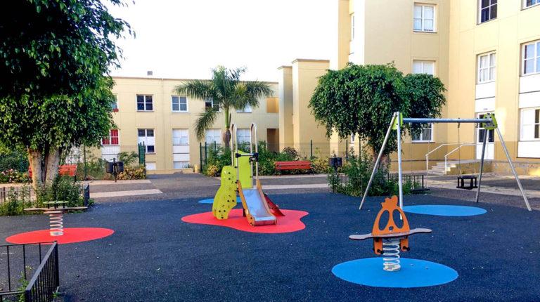 11 nuevos parques infantiles en Los Realejos