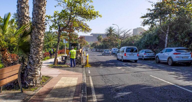 Comienza el asfaltado de la Avenida Francisco Afonso