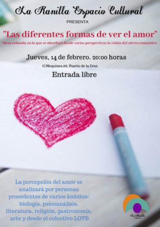 Cartel coloquio San Valentín
