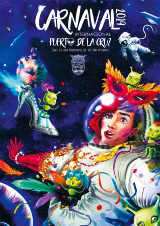 Cartel del Carnaval 2019 del Puerto de la Cruz