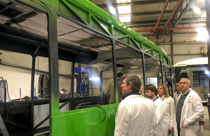 Fabrica de autobuses Castrosua