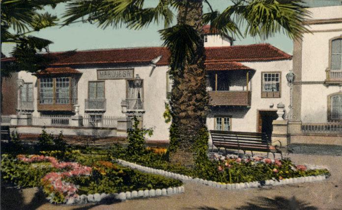 Hotel Marquesa en la primera década del pasado siglo