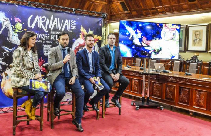 Imagen de archivo de la presentación del Carnaval 2019