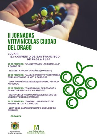 Cartel de las Jornadas Vitivinícolas