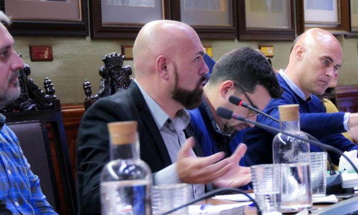 Marco González interviene en el último pleno